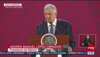 """AMLO considera """"muy buena"""" actuación de soldados en La Huacana"""
