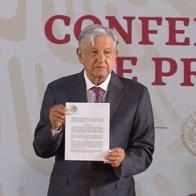 Firma AMLO decreto que elimina condonación de impuestos