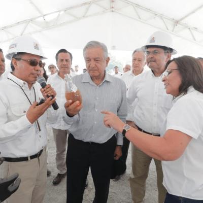 Pemex volverá a ser palanca de desarrollo nacional: AMLO