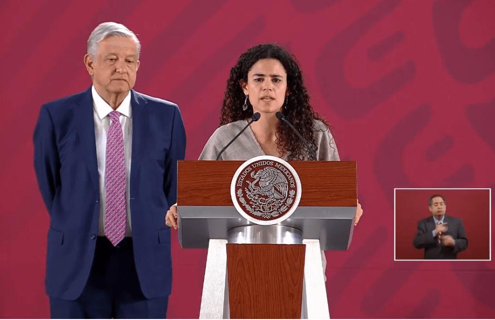 Foto: Andrés Manuel López Obrador y Luisa María Alcalde, 10 de mayo de 2019, Ciudad de México