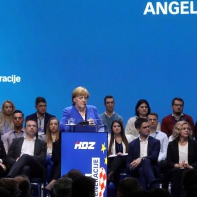 Merkel insta a frenar avance del nacionalismo en Europa