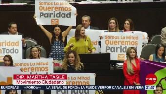 Foto: Diputados Aprueban Paridad De Género Cargos Públicos 23 Mayo 2019