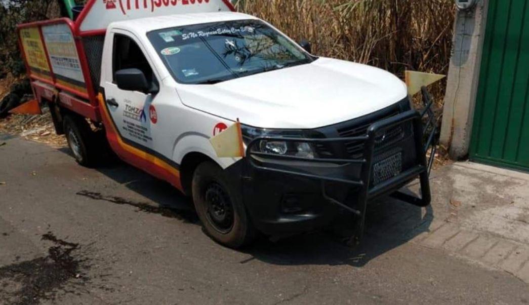 Foto: En Morelos dos empleados de una empresa repartidora de gas fueron asesinados, 16 mayo 2019