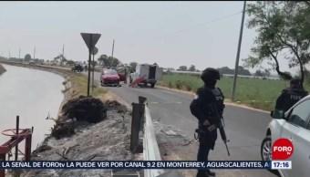 FOTO: Atacan a familia a bordo de un automóvil en Guanajuato; hay tres muertos, 25 MAYO 2019
