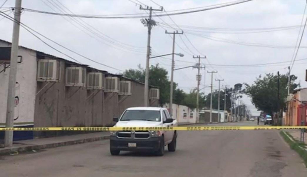Foto: Los hombres dispararon contra la fachada y ventanas, el 19 de mayo de 2019 (Noticieros Televisa)