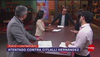 Foto: Atentado Libro Bomba Senadora Citlalli Hernández Senado 30 Mayo 2019