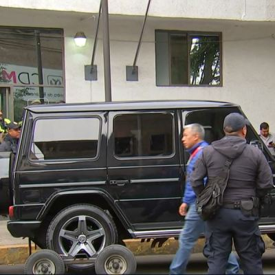 Turnan a FGR caso de atrincherados en camioneta en CDMX