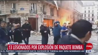 Aumenta cifra de heridos por explosión en Lyon, Francia