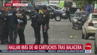 Foto: Balacera GAM Cuautepec 40 Cartuchos 23 Mayo 2019