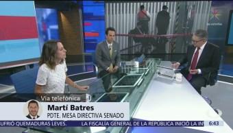 Batres: No especularemos sobre libro bomba contra Citlalli Hernández