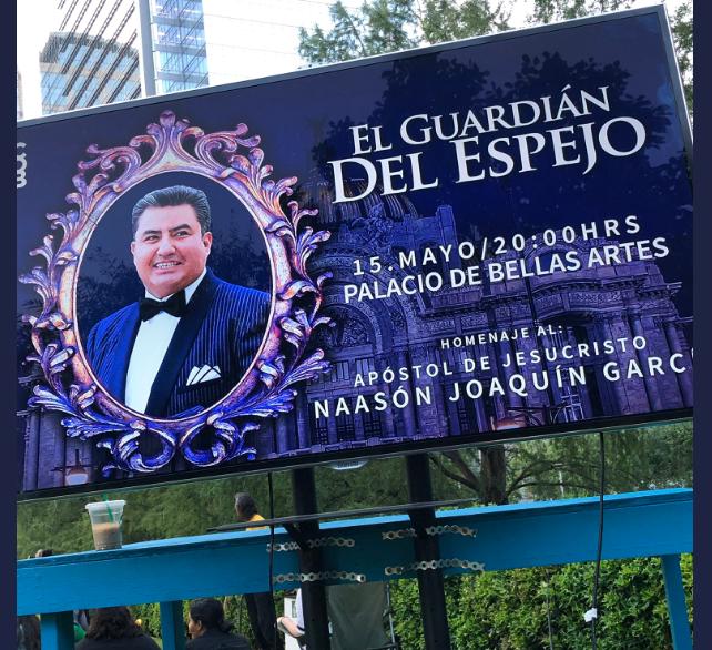 Foto: Bellas Artes rinde homenaje a Naasón Joaquín García, 15 de mayo de 2019, Ciudad de México