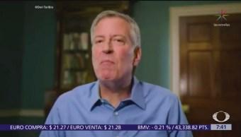 Bill de Blasio buscará candidatura demócrata a la Presidencia de EU