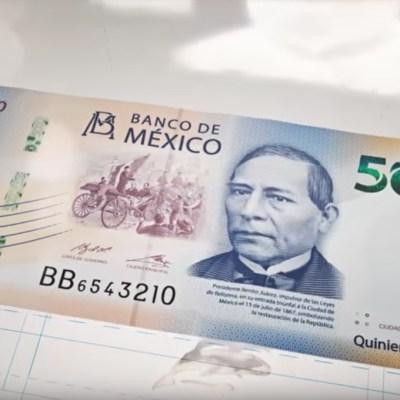 Billete de 500 pesos entre los billetes con los mejores diseños del mundo