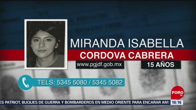 FOTO: Buscan a joven de 15 años que desapareció después de ir a taquería en Coyoacán, 12 MAYO 2019