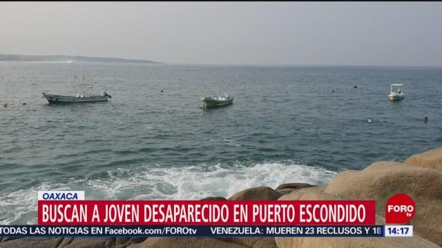 FOTO: Buscan a joven desaparecido en Puerto Escondido, Oaxaca, 25 MAYO 2019