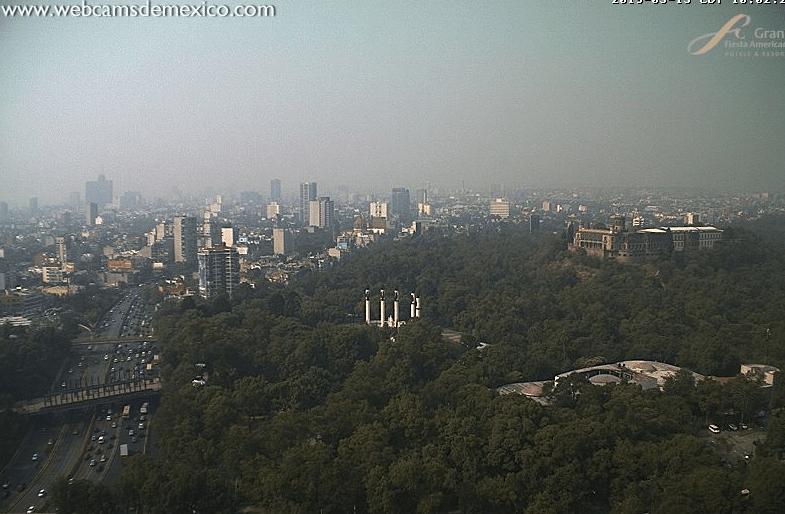 Foto: Vista de la contaminación en la Ciudad de México, 15 de mayo de 2019, México