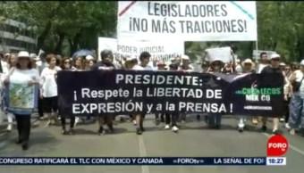 FOTO: Ciudadanos marchan contra las políticas de AMLO, 5 MAYO 2019