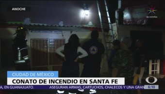 Conato de incendio en un local en Santa Fe