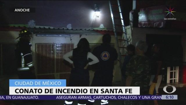 Conato de incendio en un local en Santa Fe