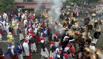 Conmemoración de la Batalla del 5 de mayo en Puebla, 5 de mayo de 2001, México