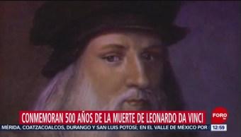 Conmemoran 500 años de la muerte de Leonardo Da Vinci
