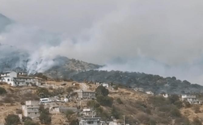 Foto: Contaminación en Hidalgo, 15 de mayo de 2019, México