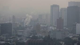 Contaminación en la Ciudad de México. (Reuters)