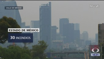 Foto: Contaminación en la CDMX por incendios forestales