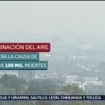 FOTO: Contaminación mata a 131 personas al día
