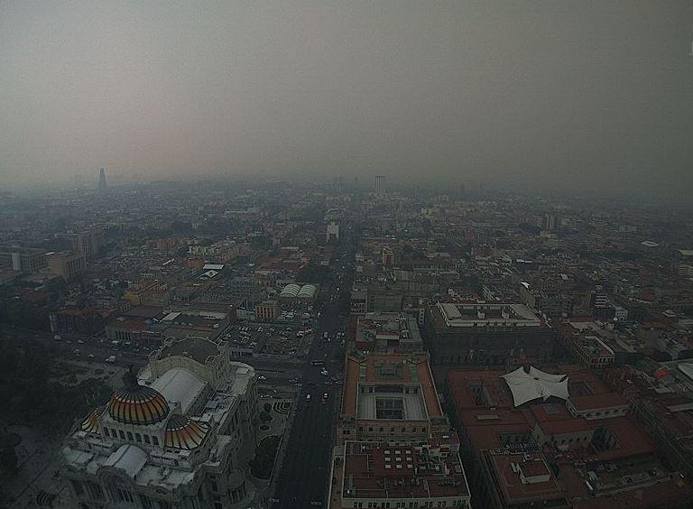 Foto La Comisión Ambiental de la Megalópolis informó que se activa este martes la Contingencia Ambiental Atmosférica Extraordinaria por PM2.5 en la ZMVM.. (Calidad Aire)