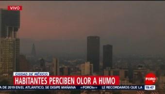Foto: Contaminación Cdmx Olor Humo Hoy 21 Mayo 2019