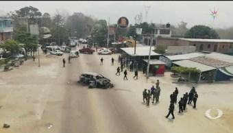 Foto: Enfrentamiento Entre Policías Comunitarios Xaltianguis Acapulco 7 de Mayo 2019