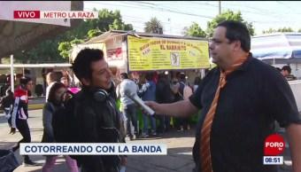 #CotorreandoconlaBanda: 'El Repor' en el Metro La Raza