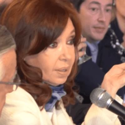 Cristina Fernández anuncia candidatura a Vicepresidencia