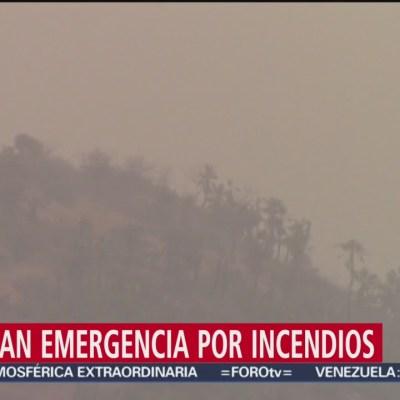 Declaran emergencia por incendios en Guerrero