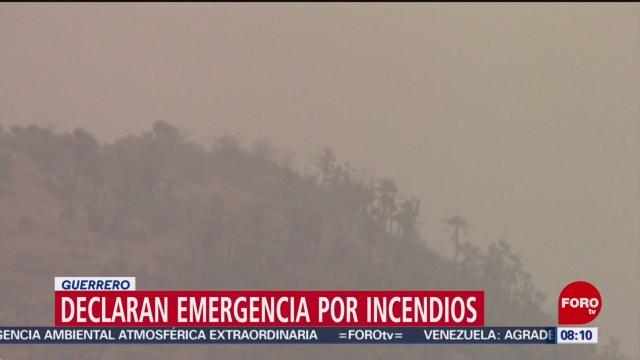 FOTO: Declaran emergencia por incendios en Guerrero,18 MAYO 2019