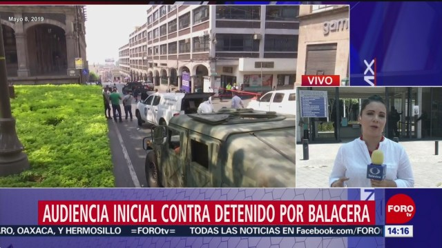 FOTO: Detenido por balacera en Cuernavaca tiene audiencia inicial