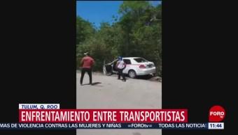 Detienen a cuatro personas durante enfrentamiento en Tulum, Quintana Roo