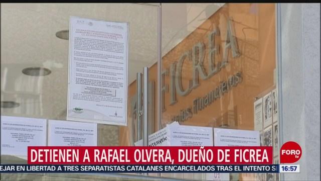 FOTO: Detienen a dueño de Ficrea en Estados Unidos