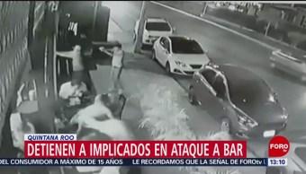 Detienen a tres implicados en balacera en Playa del Carmen