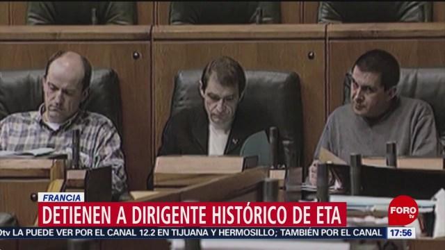 FOTO: Detienen a uno de los antiguos liderazgos de ETA