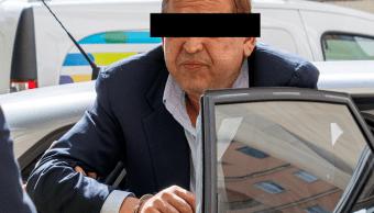 FOTO Dictan prisión preventiva en España a Alonso Ancira, director de AHMSA, por riesgo de fuga (EFE 29 mayo 2019)