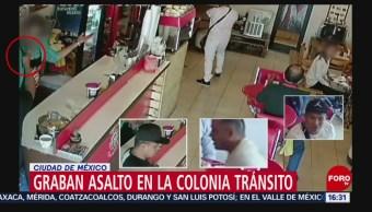 FOTO: Difunden imágenes de asalto a restaurante