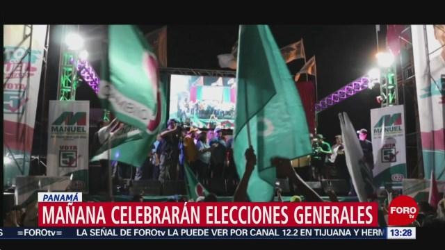 FOTO: Domingo de elecciones presidenciales en Panamá, 4 MAYO 2019