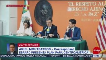 FOTO: Ebrard presenta en la Casa Blanca el plan para Centroamérica, 25 MAYO 2019
