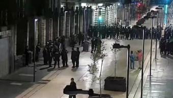 Recuperan edificio del Centro Histórico capitalino desalojado por juicio simulado