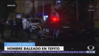 Ejecutan a hombre dentro de camioneta en Tepito, CDMX