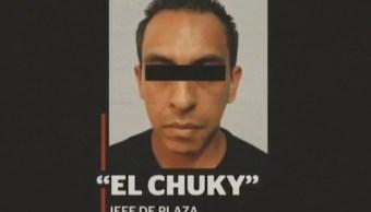 Cayó 'El Chucky', jefe de plaza del CJNG en la CDMX