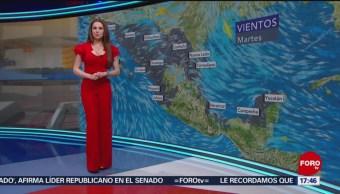 Foto: El clima, con Mayte Carranco del 7 de mayo de 2019