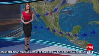 Foto: El clima, con Mayte Carranco del 9 de mayo de 2019